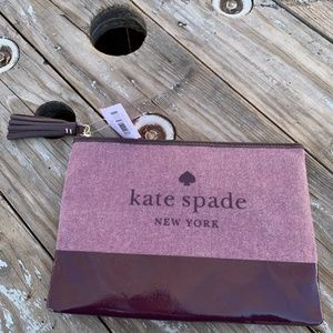 NEW Kate Spade Large Tassel Pouch